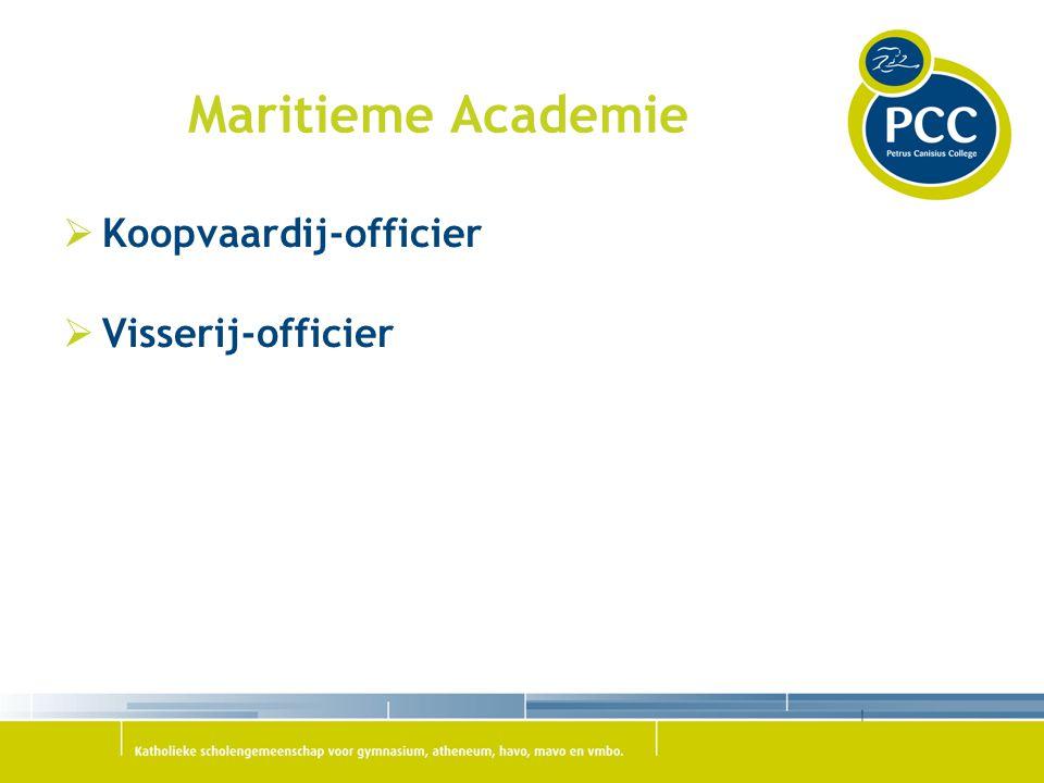 Maritieme Academie Koopvaardij-officier Visserij-officier