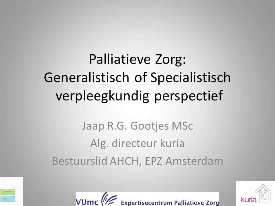 Bestuurslid AHCH, EPZ Amsterdam