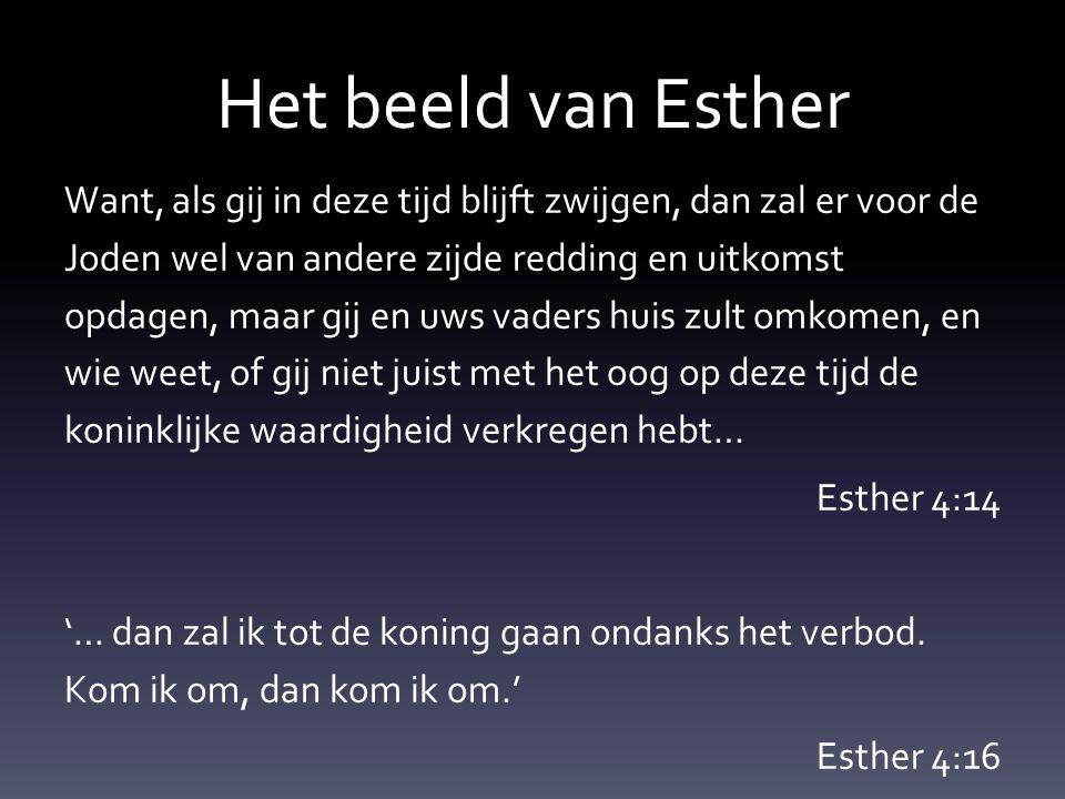 Het beeld van Esther