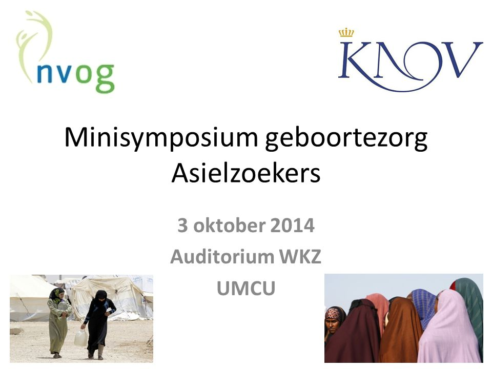Minisymposium geboortezorg Asielzoekers