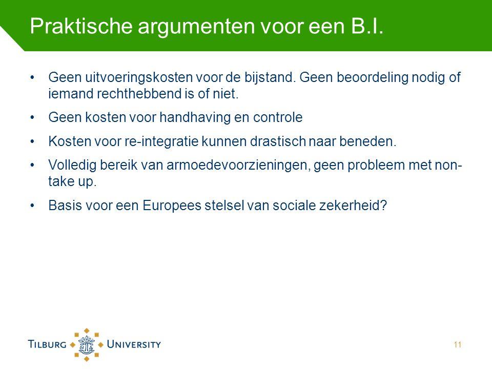 Praktische argumenten voor een B.I.