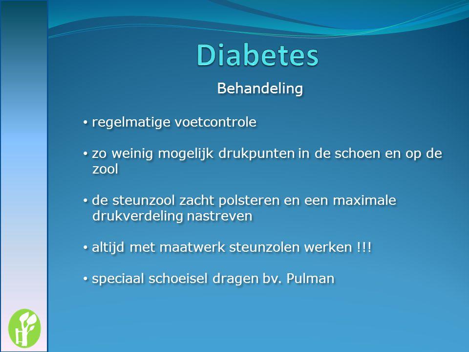 Diabetes regelmatige voetcontrole