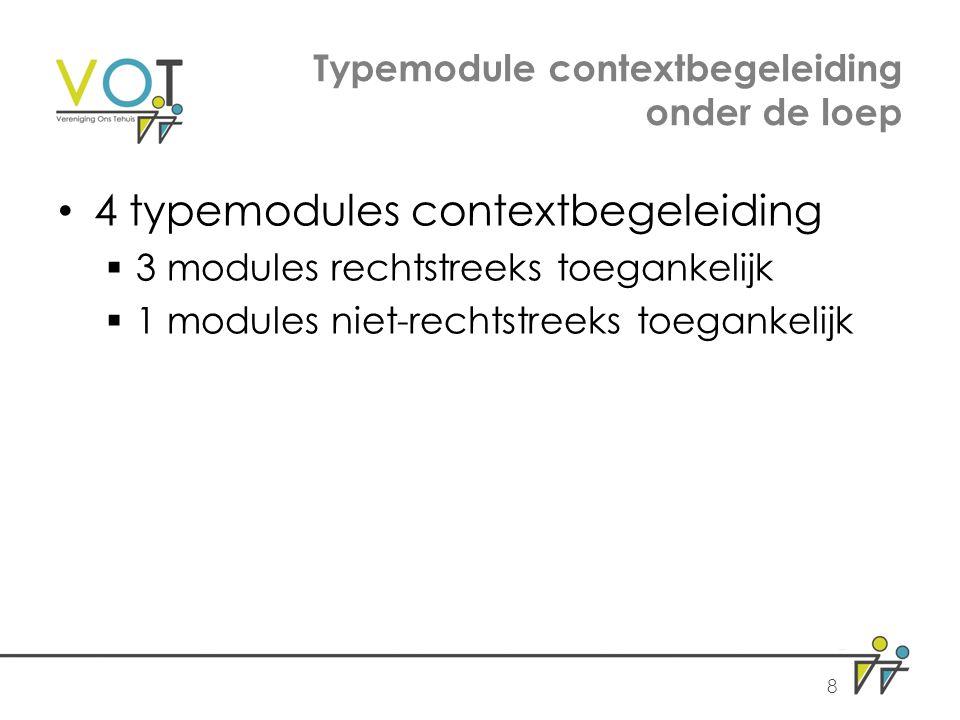 Typemodule contextbegeleiding onder de loep