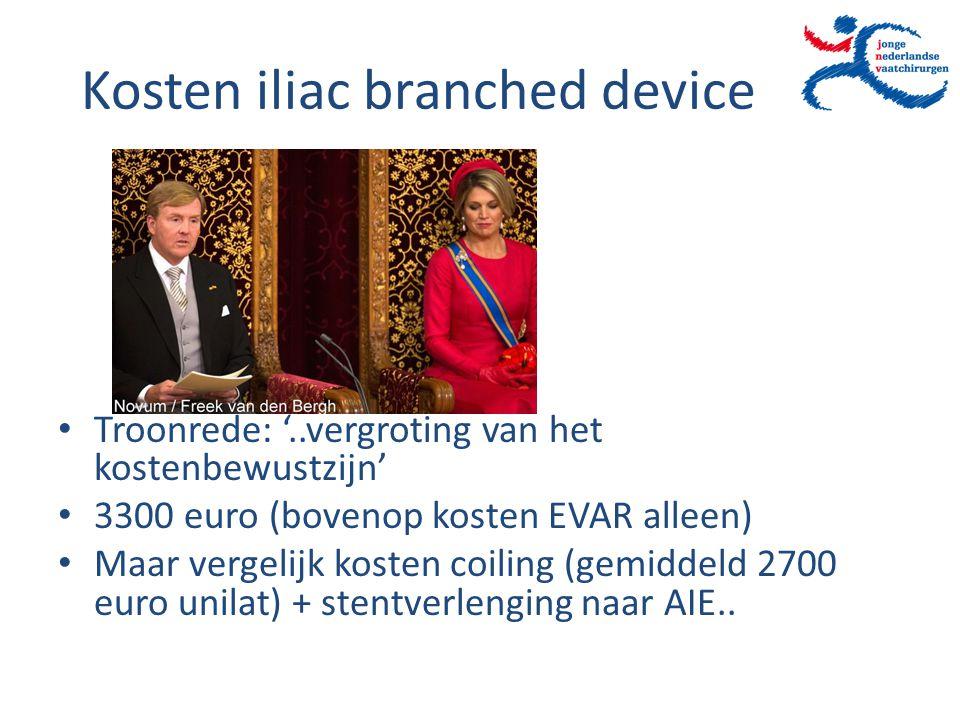 Kosten iliac branched device