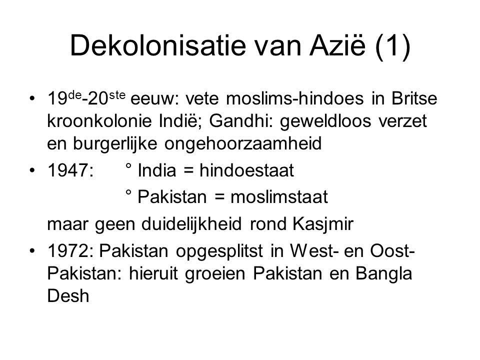 Dekolonisatie van Azië (1)