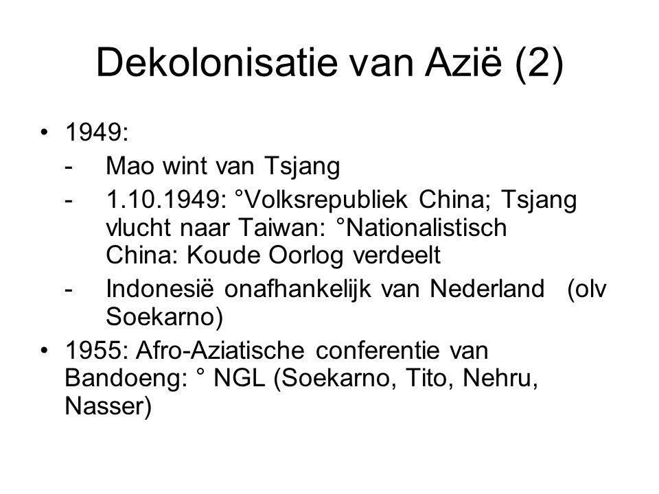 Dekolonisatie van Azië (2)