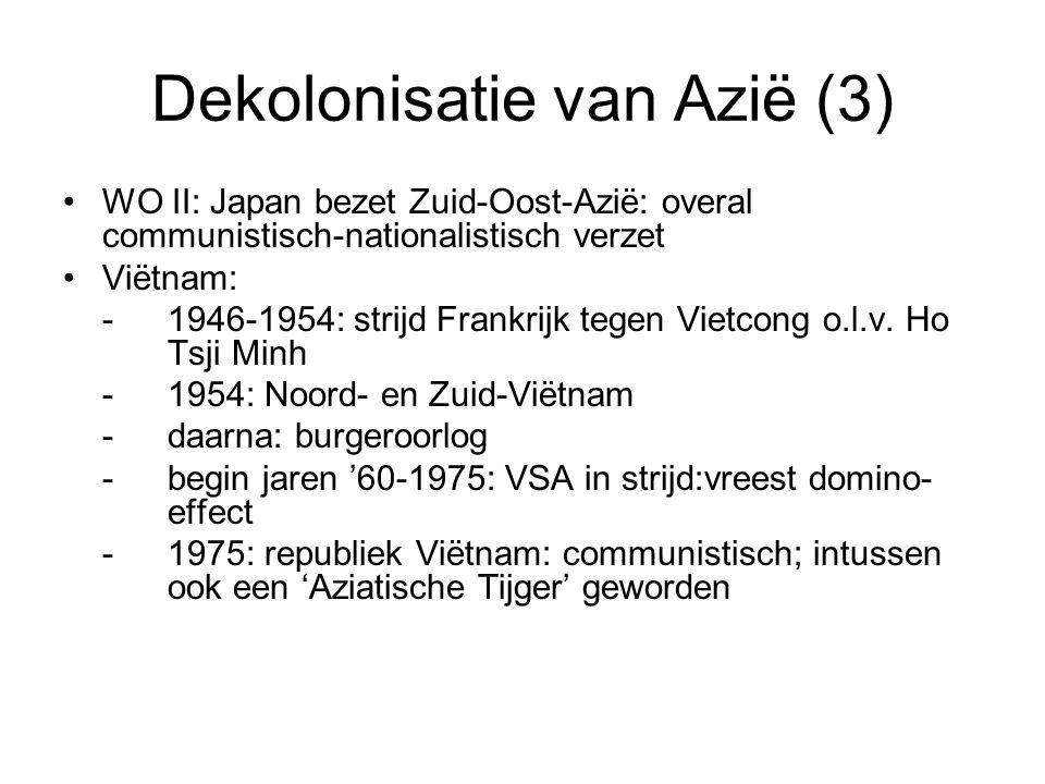 Dekolonisatie van Azië (3)