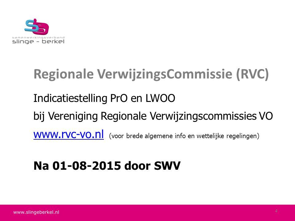 Regionale VerwijzingsCommissie (RVC)