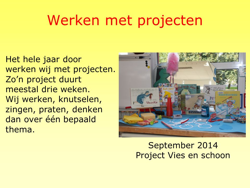 September 2014 Project Vies en schoon