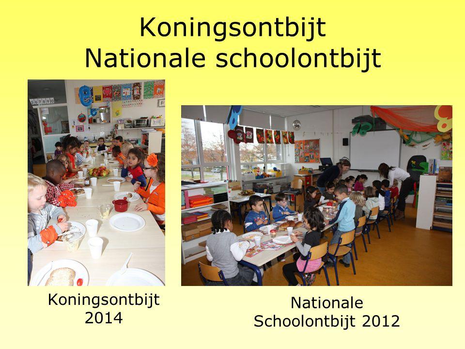 Koningsontbijt Nationale schoolontbijt