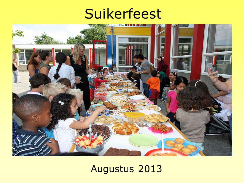 Suikerfeest Augustus 2013