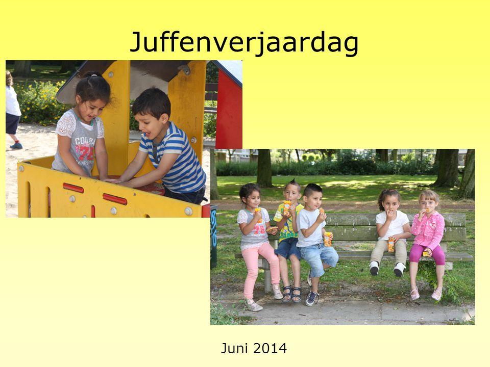 Juffenverjaardag Juni 2014