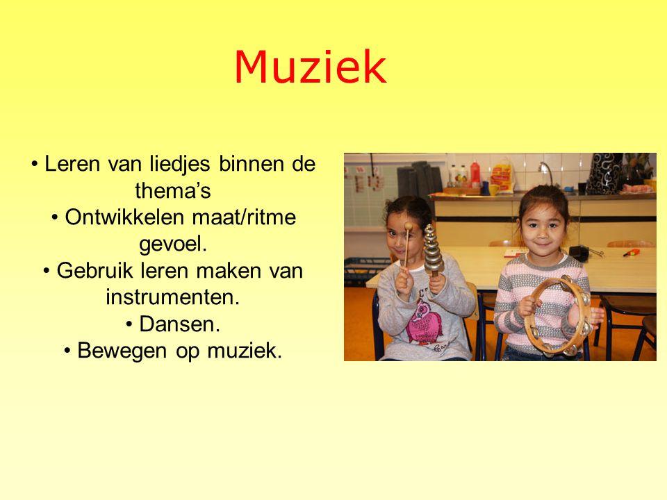 Muziek • Leren van liedjes binnen de thema's