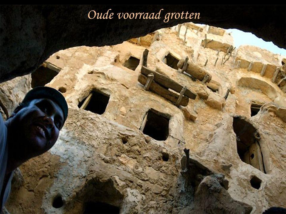 Oude voorraad grotten