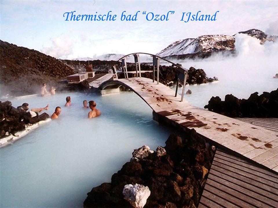Thermische bad Ozol IJsland