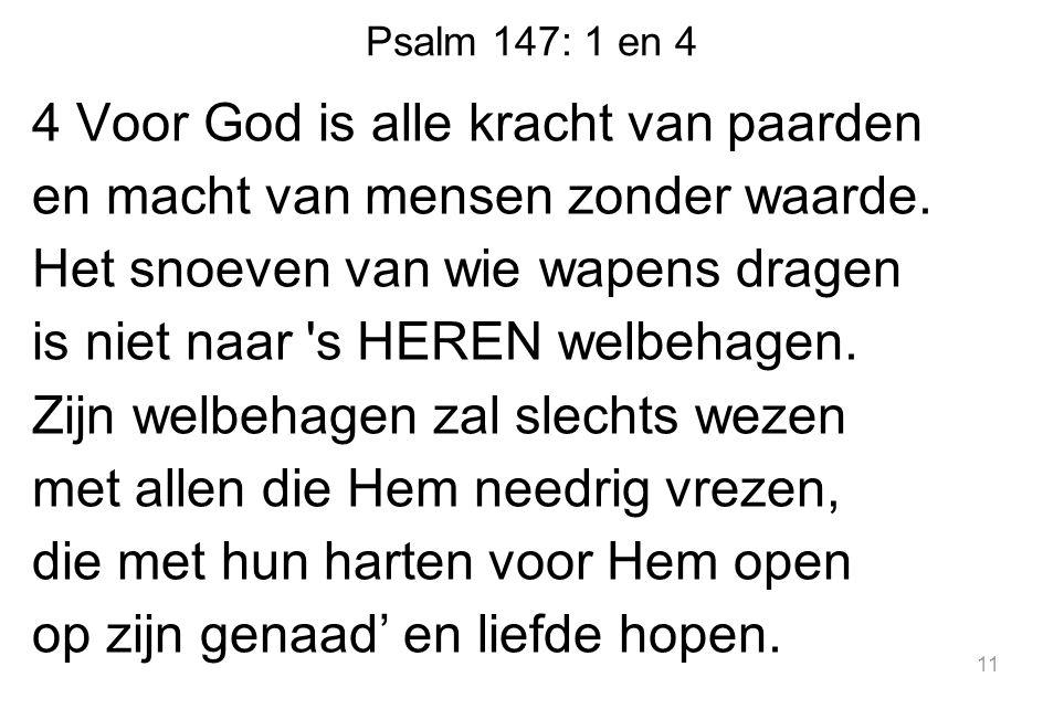 Psalm 147: 1 en 4