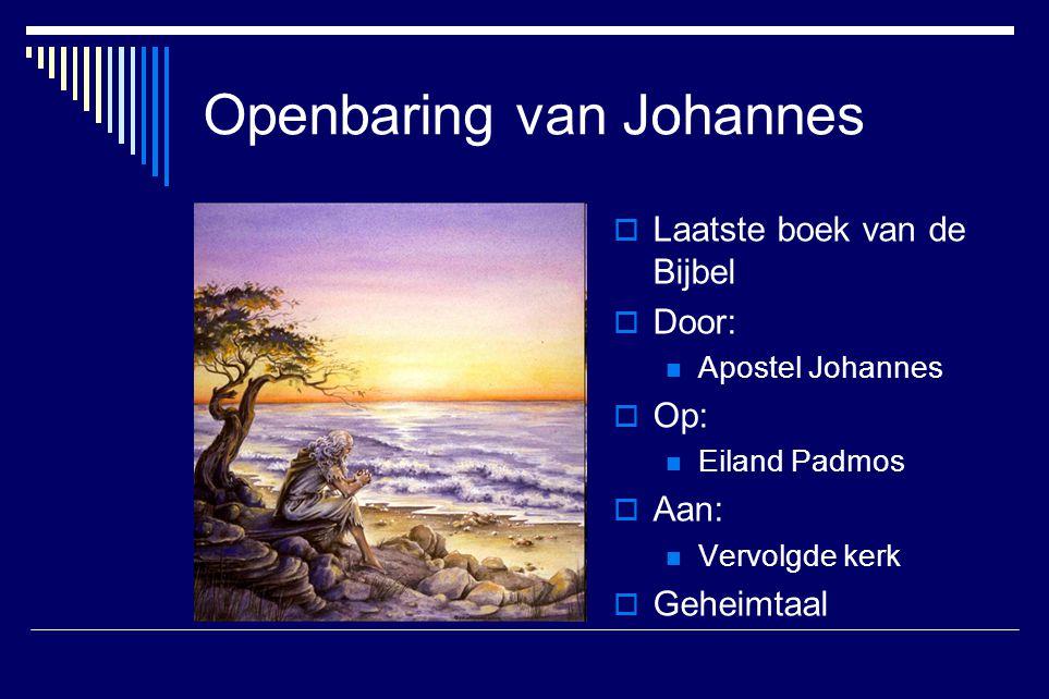 Openbaring van Johannes