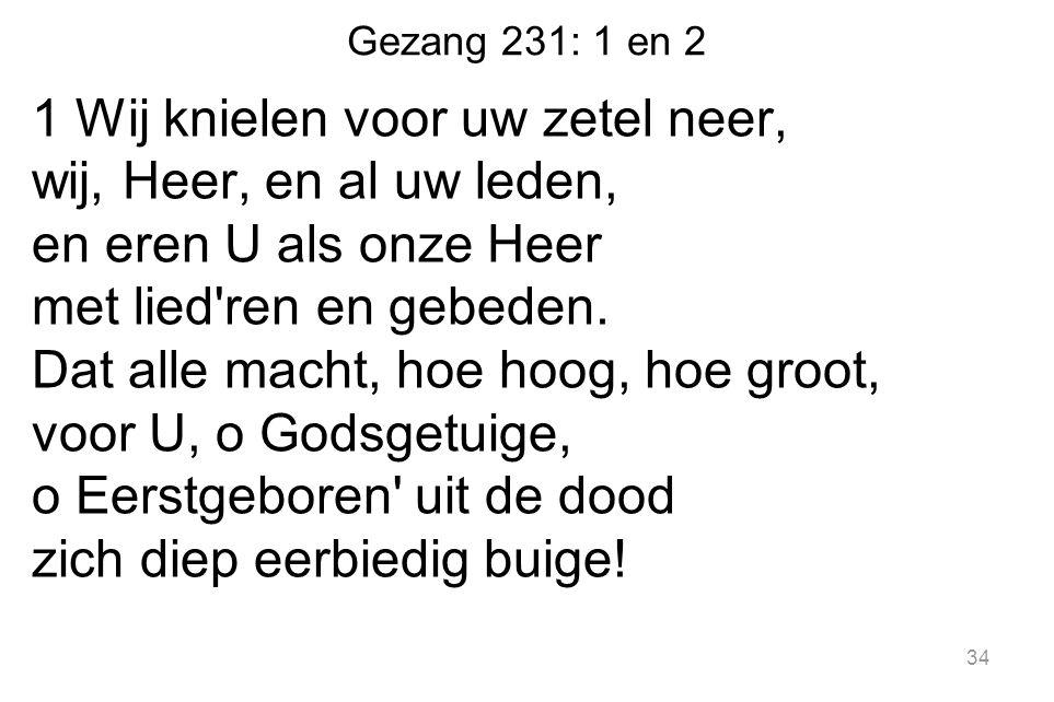Gezang 231: 1 en 2