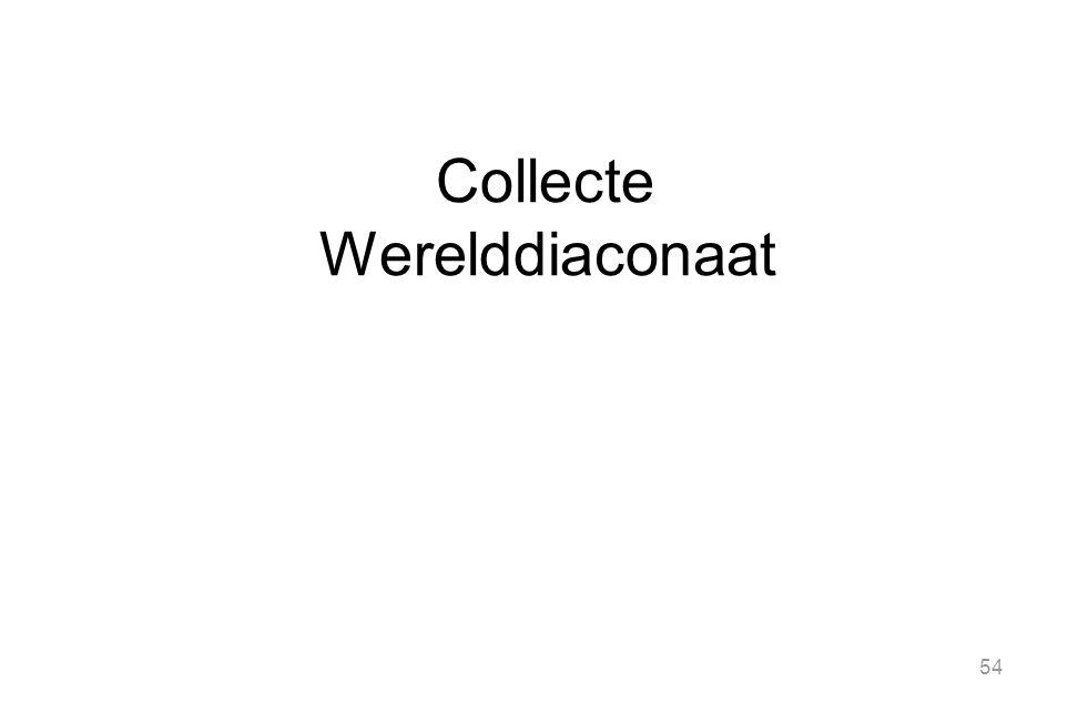 Collecte Werelddiaconaat