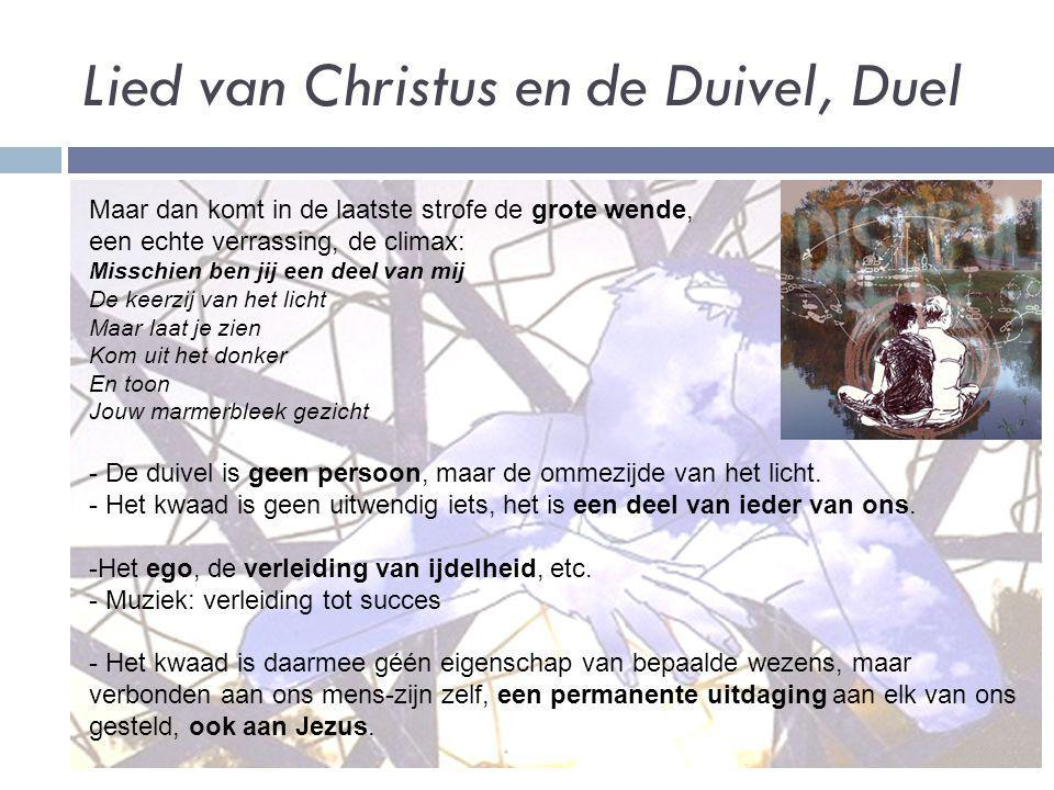 Lied van Christus en de Duivel, Duel