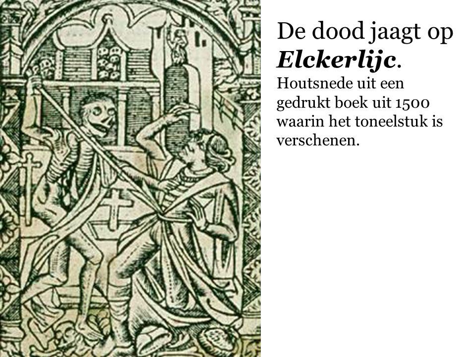 De dood jaagt op Elckerlijc