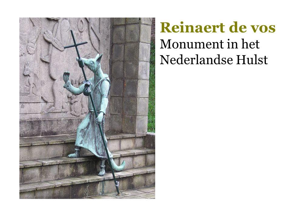 Reinaert de vos Monument in het Nederlandse Hulst