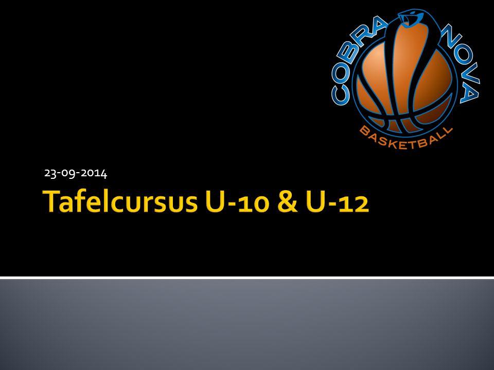 23-09-2014 Tafelcursus U-10 & U-12