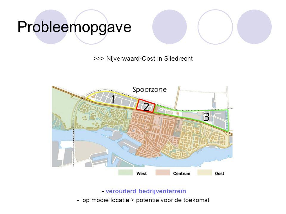 Probleemopgave >>> Nijverwaard-Oost in Sliedrecht
