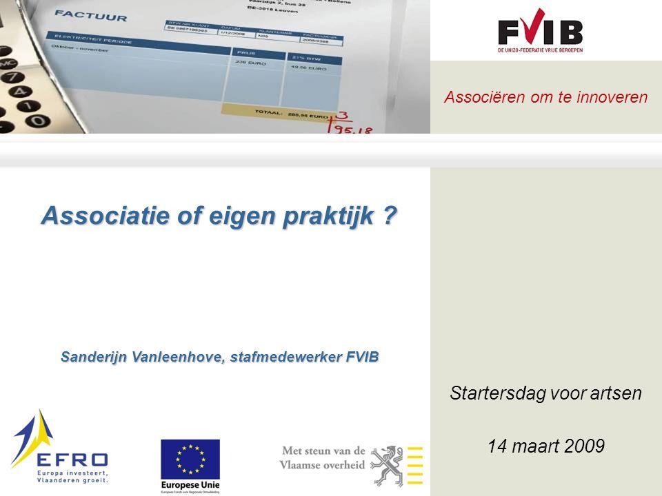 Startersdag voor artsen 14 maart 2009