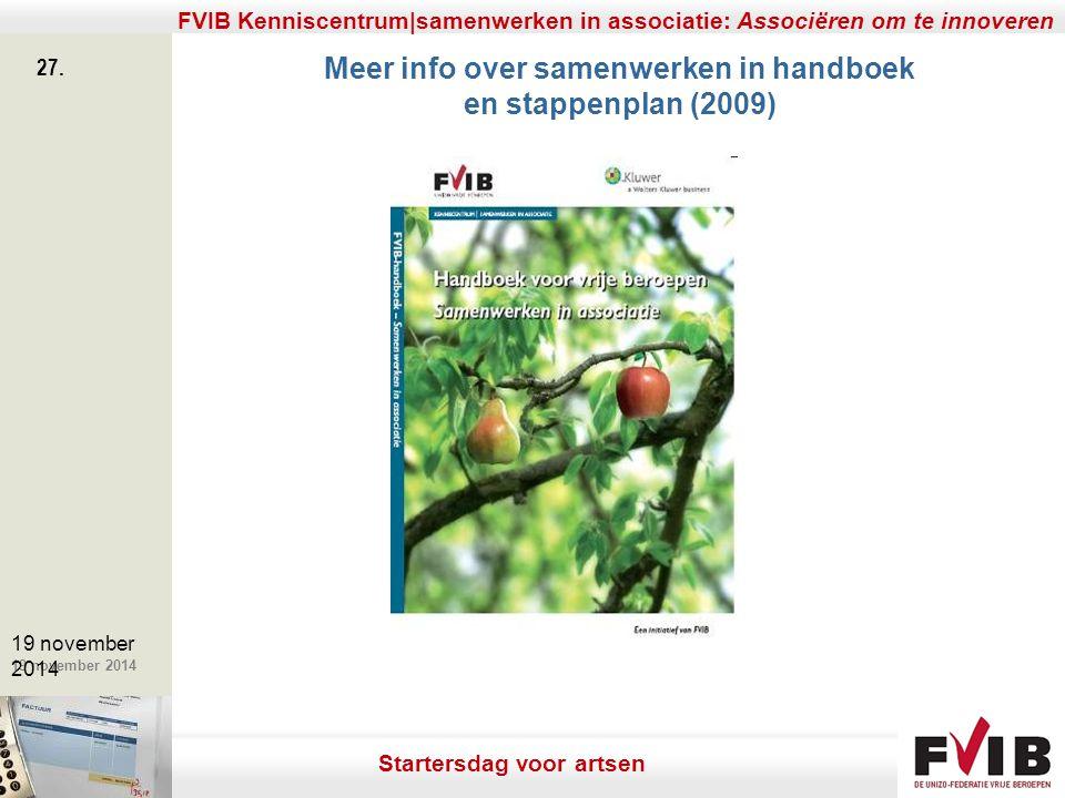 Meer info over samenwerken in handboek en stappenplan (2009)