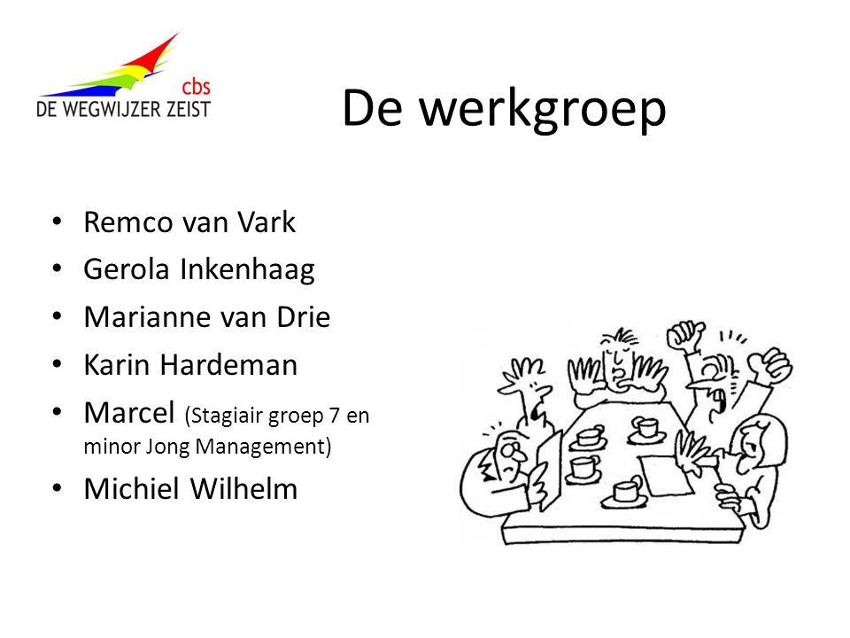 De werkgroep Remco van Vark Gerola Inkenhaag Marianne van Drie