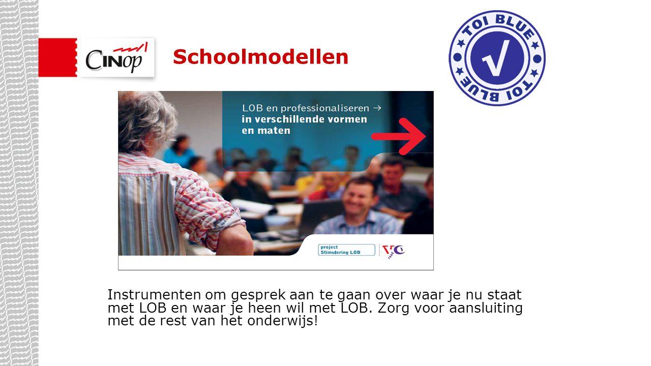 Schoolmodellen Gevolgen van eigen acties, maar ook waarom die eigen acties.