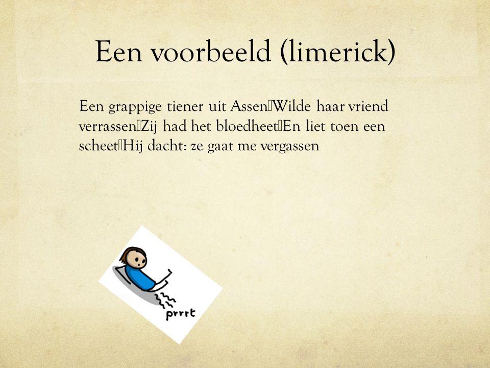 Een voorbeeld (limerick)