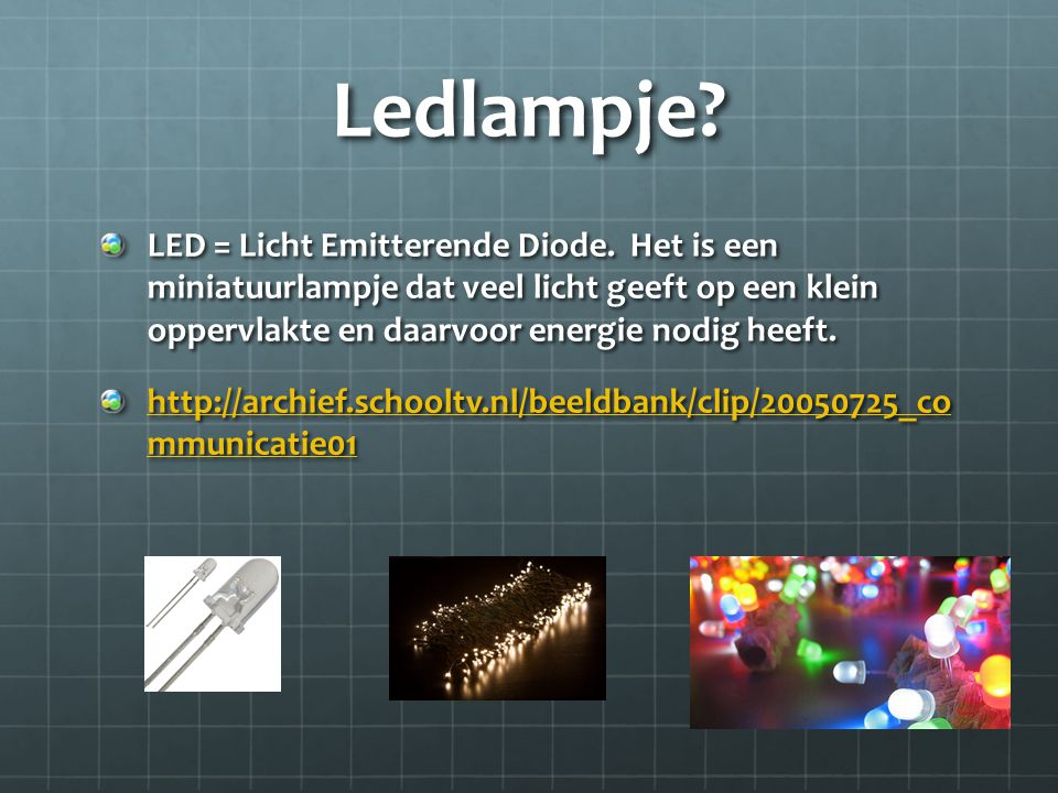 Ledlampje