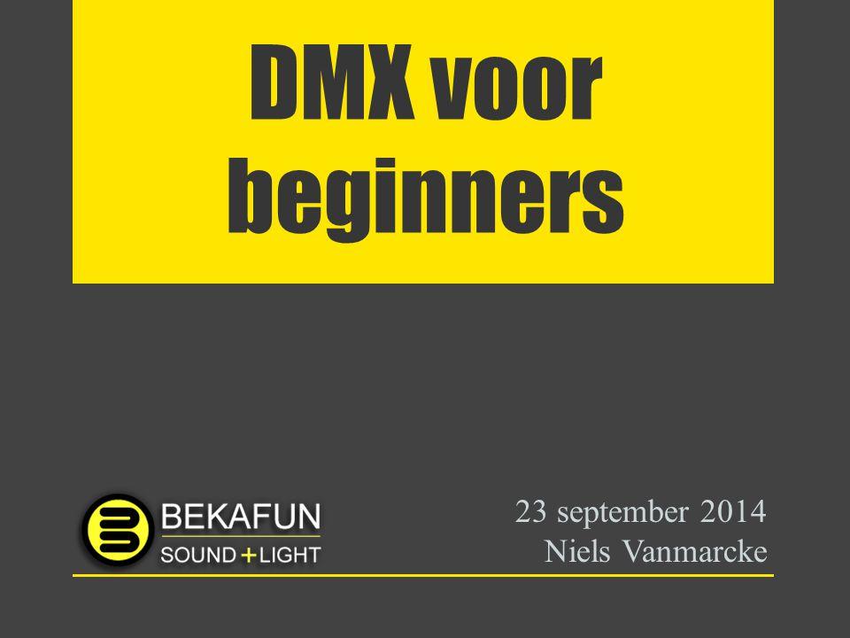 23 september 2014 Niels Vanmarcke
