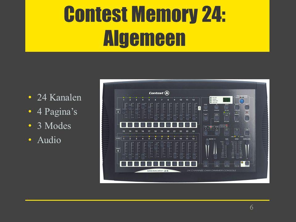 Contest Memory 24: Algemeen
