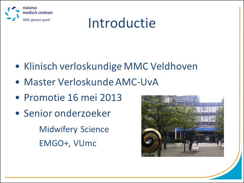 Introductie Klinisch verloskundige MMC Veldhoven