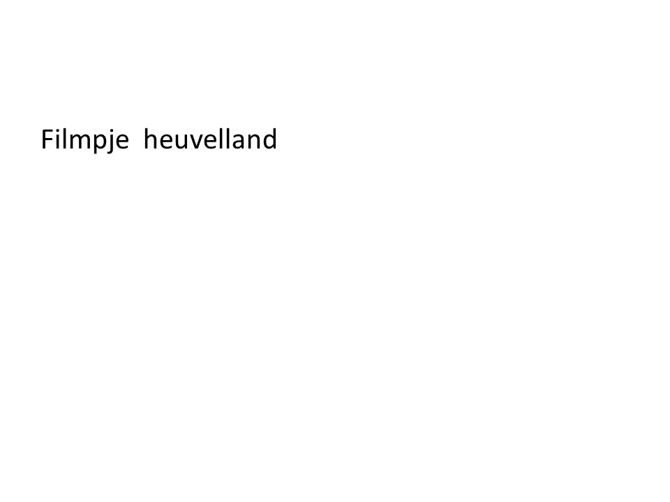 Filmpje heuvelland