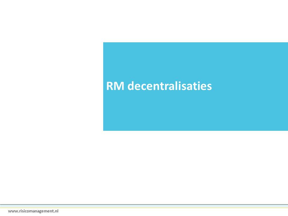 RM decentralisaties