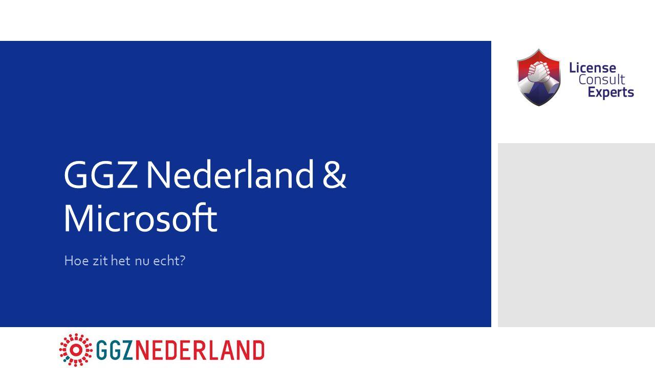 GGZ Nederland & Microsoft