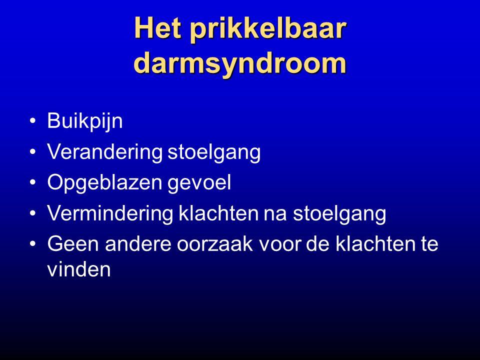 Het prikkelbaar darmsyndroom