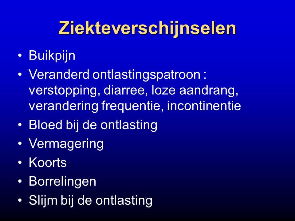 Ziekteverschijnselen