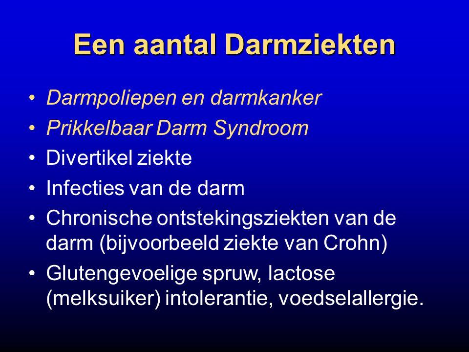 Een aantal Darmziekten
