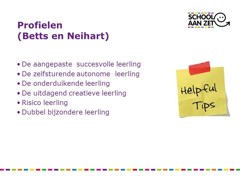 Profielen (Betts en Neihart)
