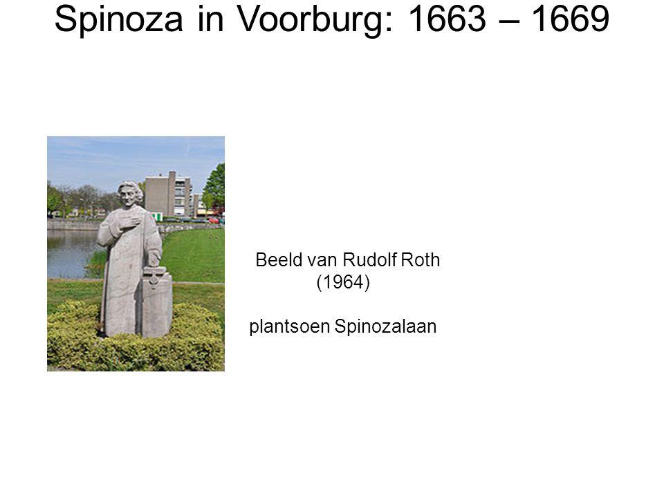 Spinoza in Voorburg: 1663 – 1669 Beeld van Rudolf Roth (1964)