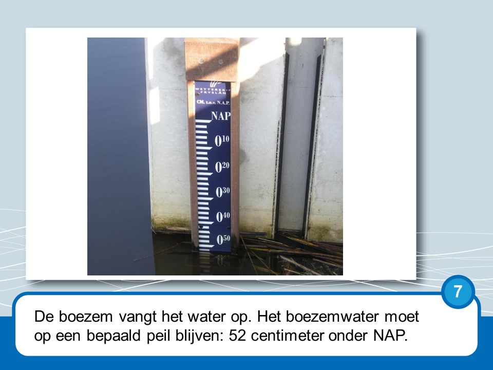 NAP staat voor Normaal Amsterdams Peil.