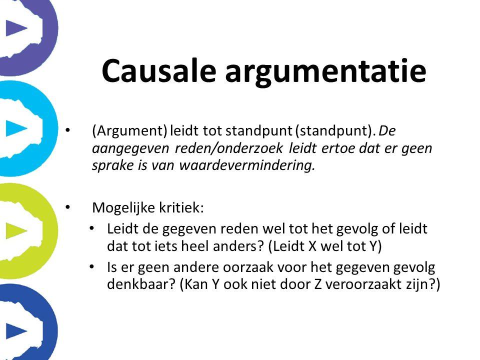 Causale argumentatie