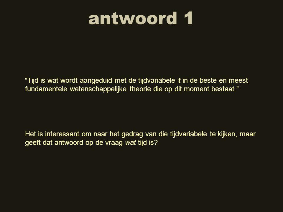 antwoord 1