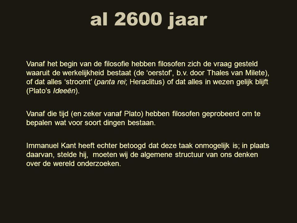 al 2600 jaar
