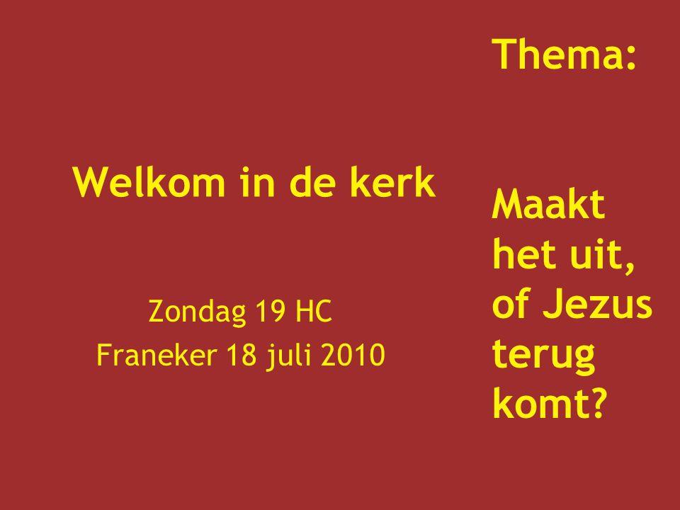 Zondag 19 HC Franeker 18 juli 2010